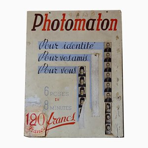 French Advertising Poster from Photomaton, 1950s