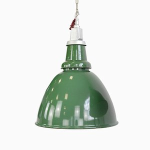 Locomotive Factory Industrial Ceiling Lamp by Thorlux, 1930s