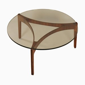 Rosewood Coffee Table by Sven Ellekaer for Christian Linneberg Mobelfabrik, 1960s