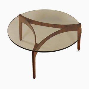 Table Basse en Palissandre par Sven Ellekaer pour Christian Linneberg Mobelfabrik, 1960s