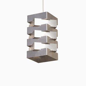 Metal Hanging Lamp by Hoogervorst for Anvia, 1950s.