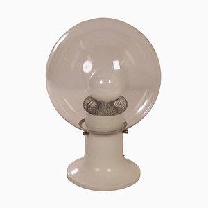 Glas Design Tischlampe, 1970er