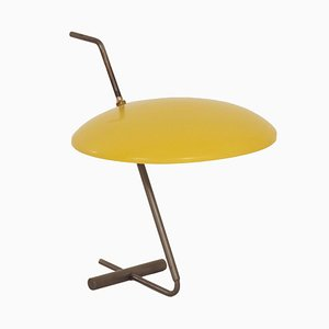 Rare Yellow Desk Lamp by Hoogervorst for Anvia, 1950s