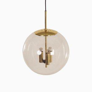 Glass Ball Pendant for Glashütte Limburg, 1970s