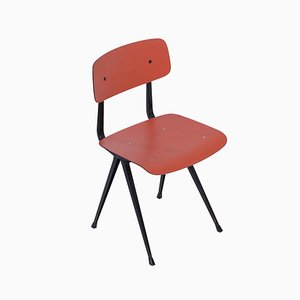 Rose Red Result Chair by Kramer and Rietveld for Ahrend, 1958