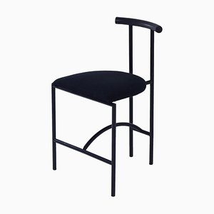 Tokyo Dining Chair by Rodney Kinsman for Bieffeplast, 1980s – Black Fabric