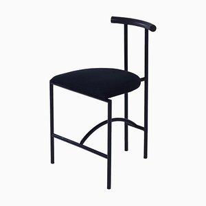 Tokyo Dining Chair by Rodney Kinsman for Bieffeplast, 1980s – Black Fabric