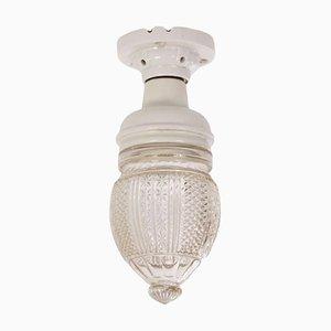 Dutch Art Nouveau ceiling lamp from the 1930s