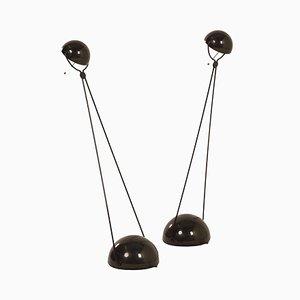 Lampes de Bureau Meridiana par Paolo Piva pour Stefano Cevoli, 1980s, Set de 2