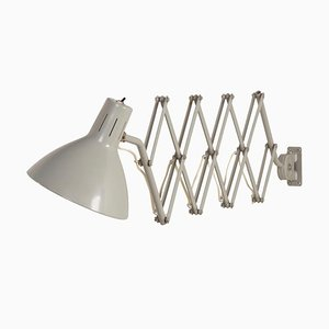 Industrial Scissors Wall Light '110' by Hala, 1960s – Grey