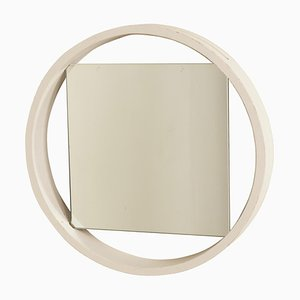 White Wall Mirror DZ84 by Benno Premsela for