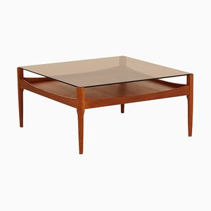 Teak Coffee Table by Kristian Vedel for Søren Willadsen, 1960s