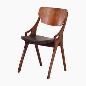 Danish Dining Chair by Hovmand Olsen for Mogens Kold, 1960s (1)