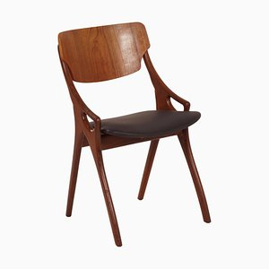 Danish Dining Chair by Arne Hovmand-Olsen for Mogens Kold, 1960s (2)
