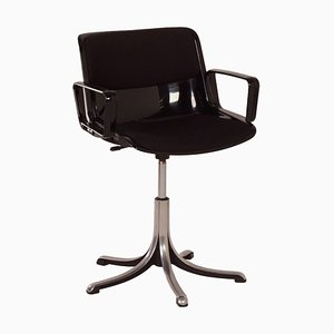 Italian Modus Office Chair by Osvaldo Borsani for Tecno, 1960s