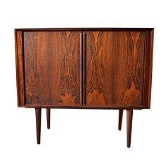 Brazilian Rosewood Cabinet by Kai Kristiansen for Feldballes Møbelfabrik