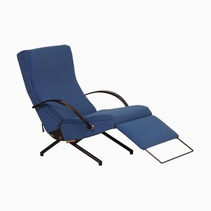 P40 Lounge Chair 1st Edition by Osvaldo Borsani for Tecno, 1950s