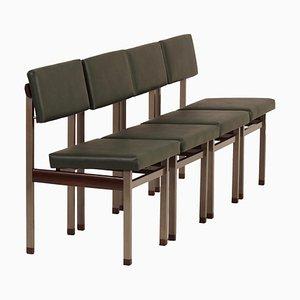 Pali Esszimmerstühle von Louis van Teeffelen für Wébé, 1960er