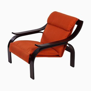 Woodline Arm Chair by Marco Zanuso for Arflex, 1960s.