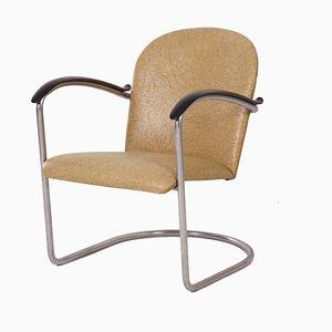 414 Tubular Armchair by W.H. Gispen for Gispen, 1960