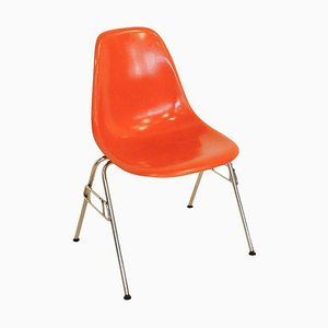 Orange DSS Chair by Charles Eames for Herman Miller, 1950s