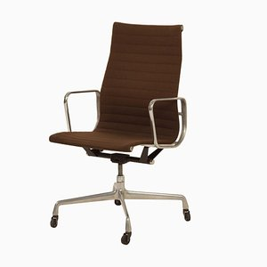 Original Brown Eames Office Chair by Charles and Ray Eames for Herman Miller, 1960s