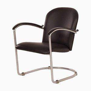 414 Ladies Sessel von WH Gispen für Gispen, 1930er   Re-gepolstert