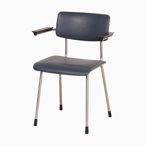 Tubular Chair 1235 with Armrests by Gispen, 1960s