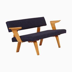 Blaues Sofa von Cor ALONS für Den Boer Gouda, 1948 - New Upholstery