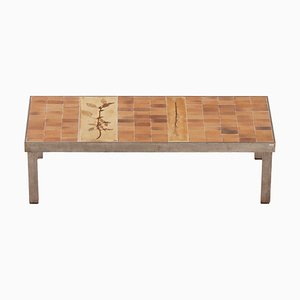 Rectangular Coffee Table by Roger Capron for Atelier Callis, 1960s.