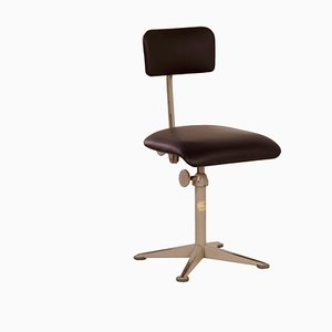 Chaise d'Architecte par Friso Kramer pour Ahrend de Cirkel, 1960s | Nouvelle Tapisserie
