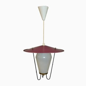 Mid-Century Light Bordeaux Ceiling Lamp, 1950s