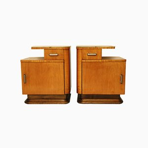 Vintage Nightstands from UP Závody, Set of 2