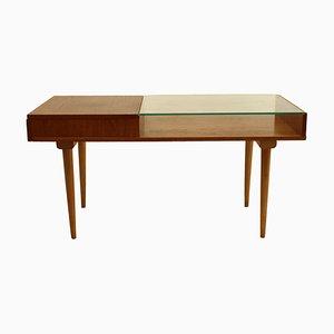 Table Basse Mid-Century en Verre, 1960s
