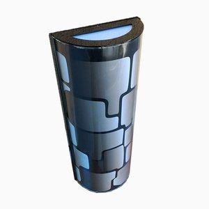 Gray Plexiglass Geometric Sconce, 2000s