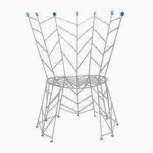 Metal Side Chair by Bohuslav Horak, 1980s