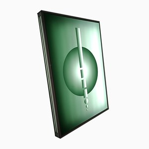 Green Plexiglass Sconce, 2000s