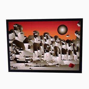 Plexiglass Sconce, 2000s