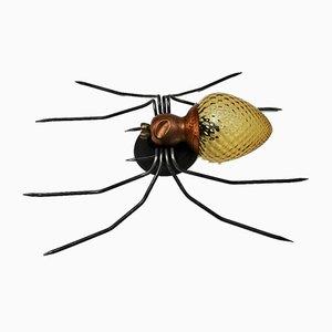 Italienische Mid-Century Spider Wandlampe