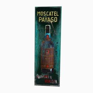 Affiche Moscatel Payas Peinte