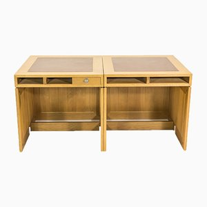 Vintage Console Tables by Børge Mogensen for Tage Christensen, Set of 2