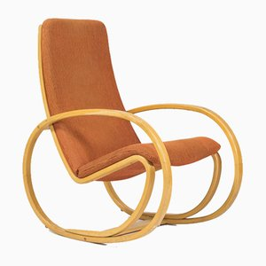 Vintage Danish EJ25 Rocking Chair by Jörgen Gammelgaard for Erik Jørgensen