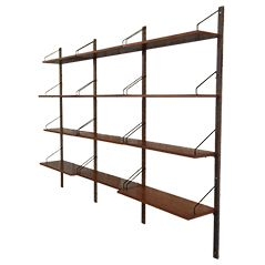 Teak Shelving System by Poul Cadovius for Royal System