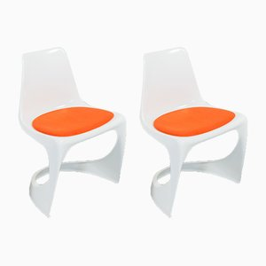 Vintage A-Line Esszimmerstühle von Steen Ostergaard für Cado, 4er Set