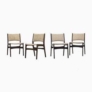 Chaises de Salon Mid-Century par Johannes Andersen, Set de 4