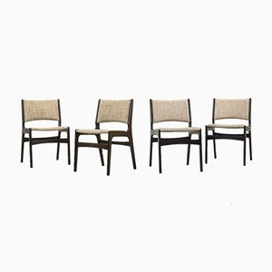 Mid-Century Dining Chairs by Johannes Andersen, Set of 4