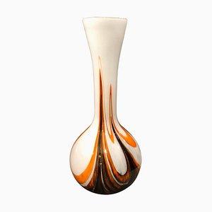 Italienische Space Age Vase von Carlo Moretti für Opaline Florence, 1970er