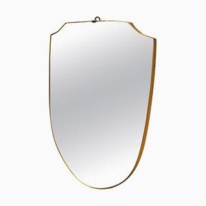 Italienischer Moderner Spiegel, 1950er