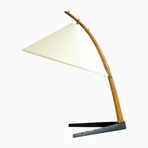 Mid-Century Table Lamp by J. T. Kalmar for Kalmar, 1950s