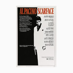 Vintage Scarface Movie Poster, 1983